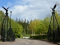 Powerscourt Hotel_entrance gates