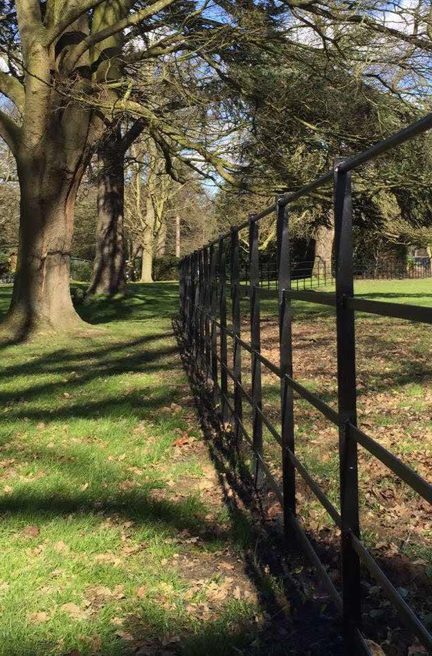 The future of fencing galvanized at Osterley Park